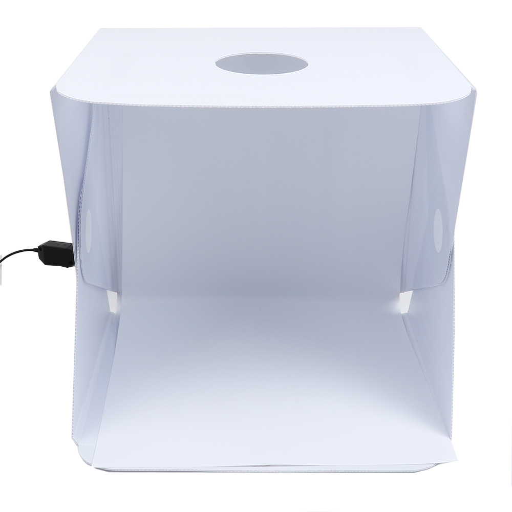 portable led studio photo box instructions