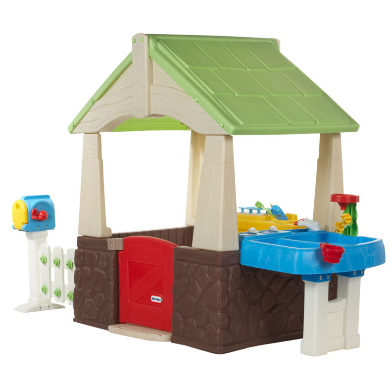 little tikes deluxe home and garden playhouse assembly instructions