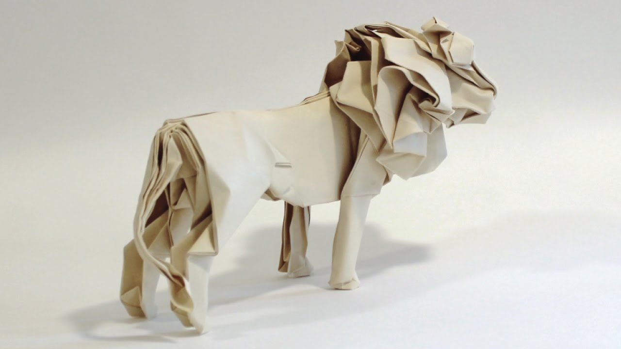 origami lion instructions for kids