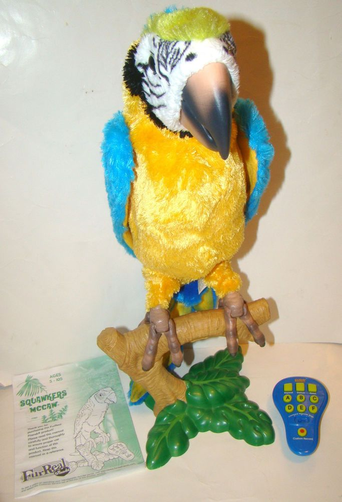 furreal friends parrot instructions