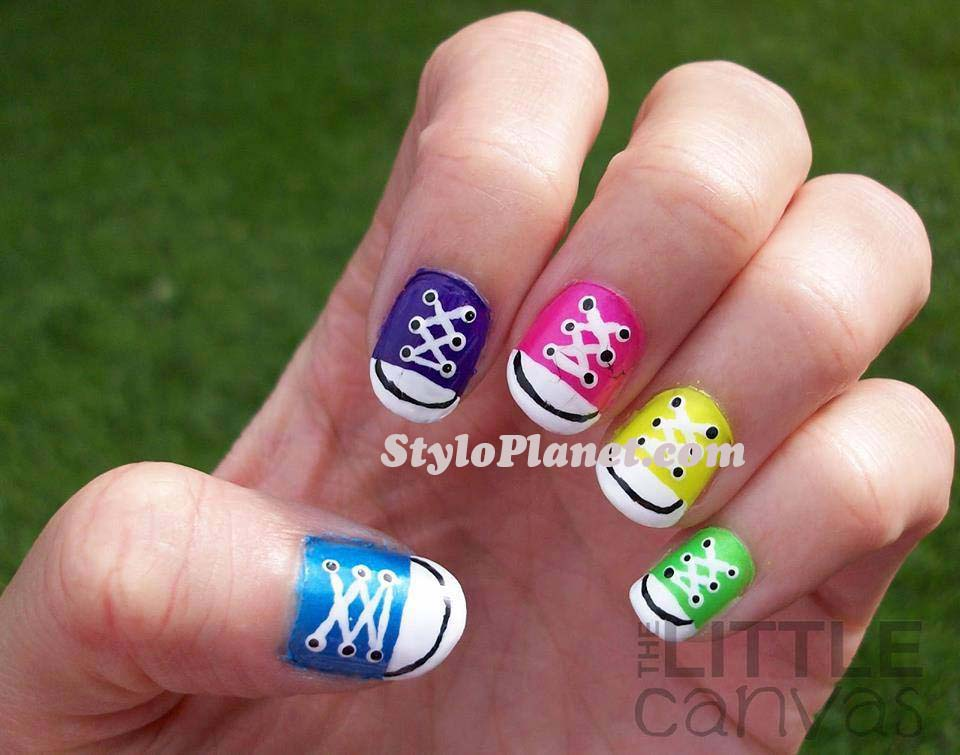 step by step nail art instructions