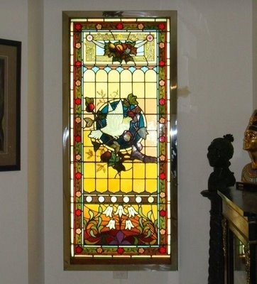 stained glass light box instructions