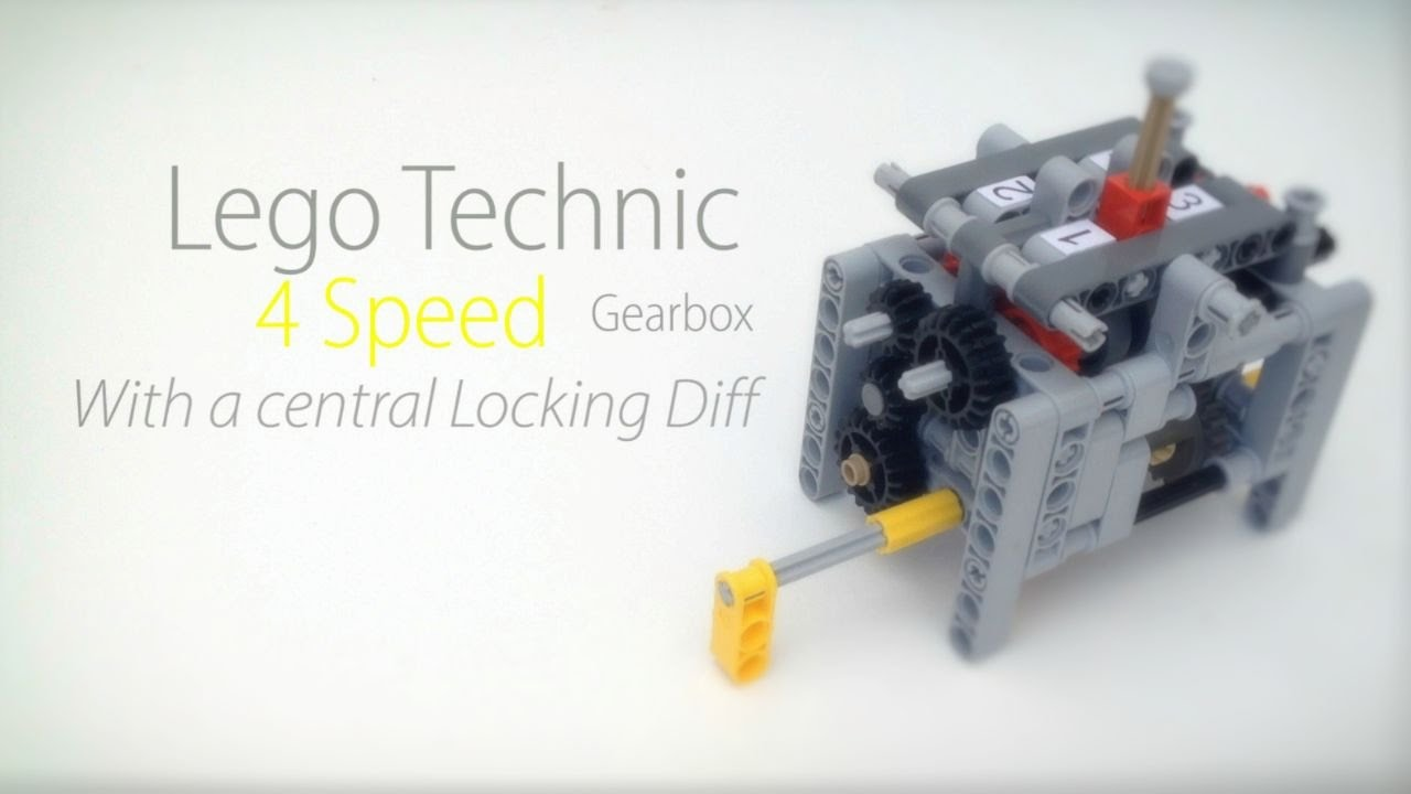 lego 6 speed gearbox instructions
