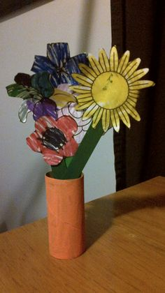 toilet paper roll flowers instructions