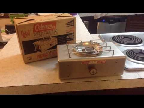 coleman 533 stove instructions
