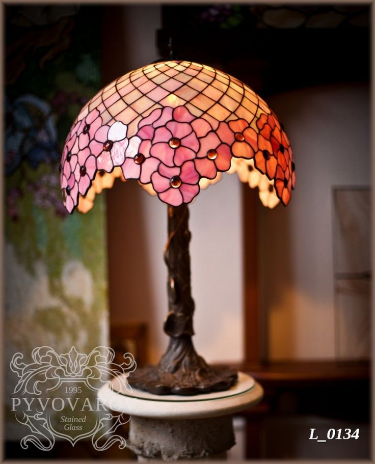 stained glass lamp shade instructions
