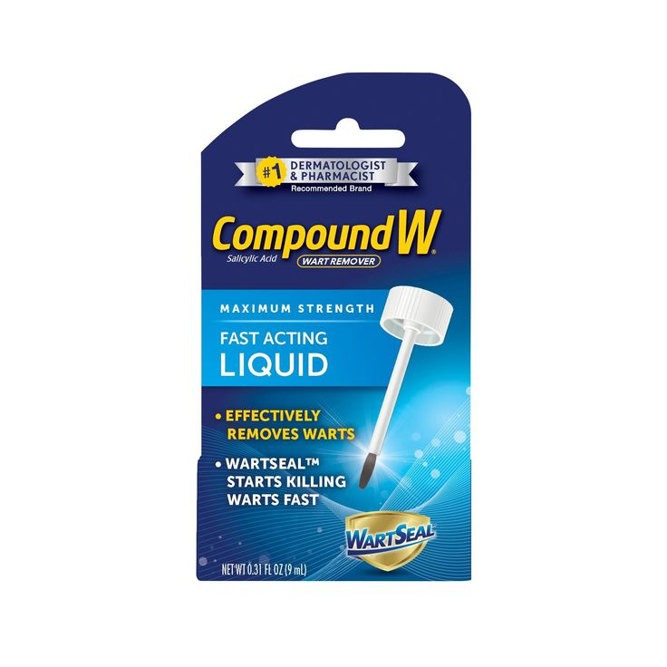 compound w liquid wart remover instructions