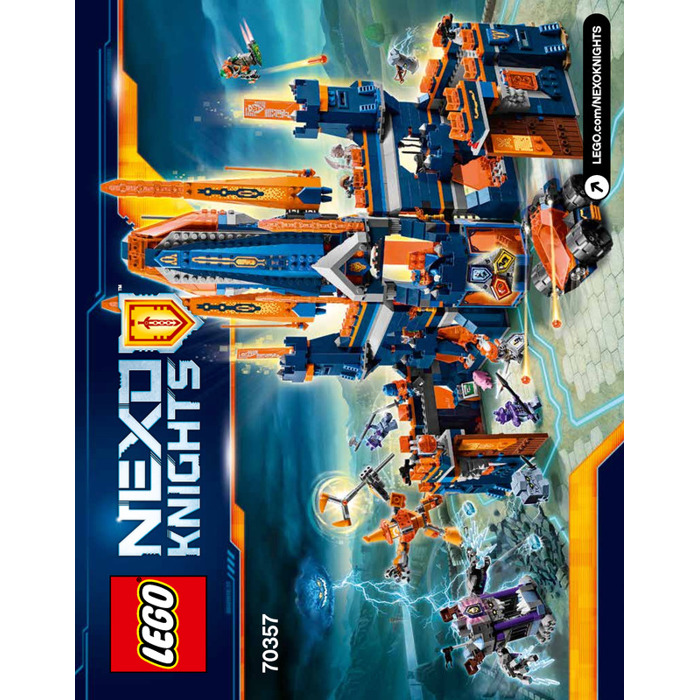 lego nexo knights knighton castle instructions