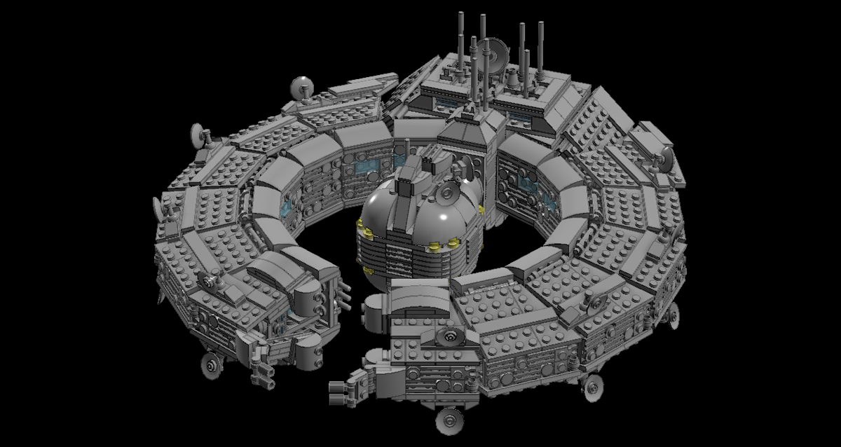 lego droid control ship instructions
