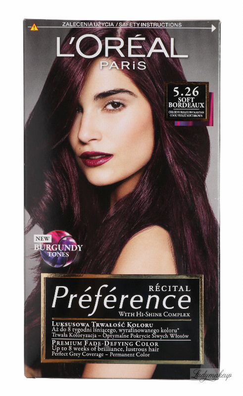 loreal preference hair color instructions