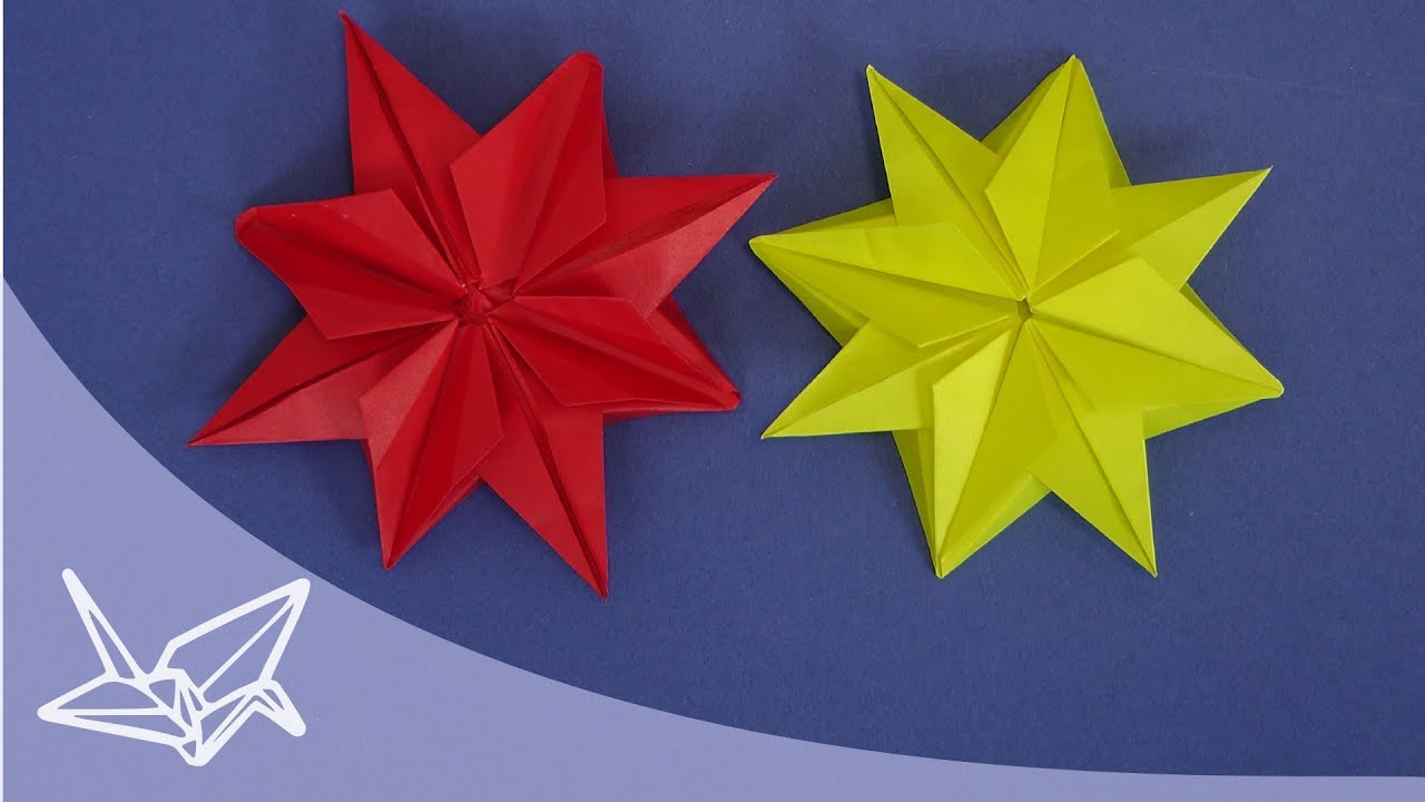 origami 3d star instructions