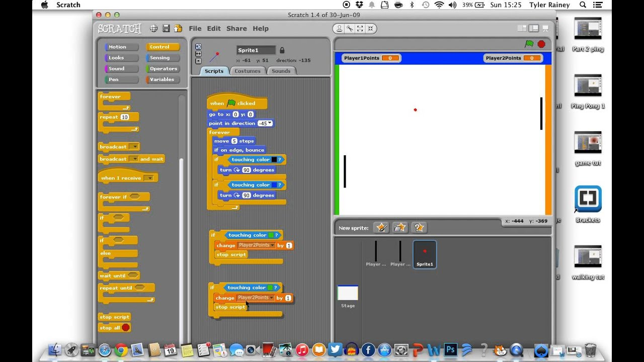 scratch instructions to make a game