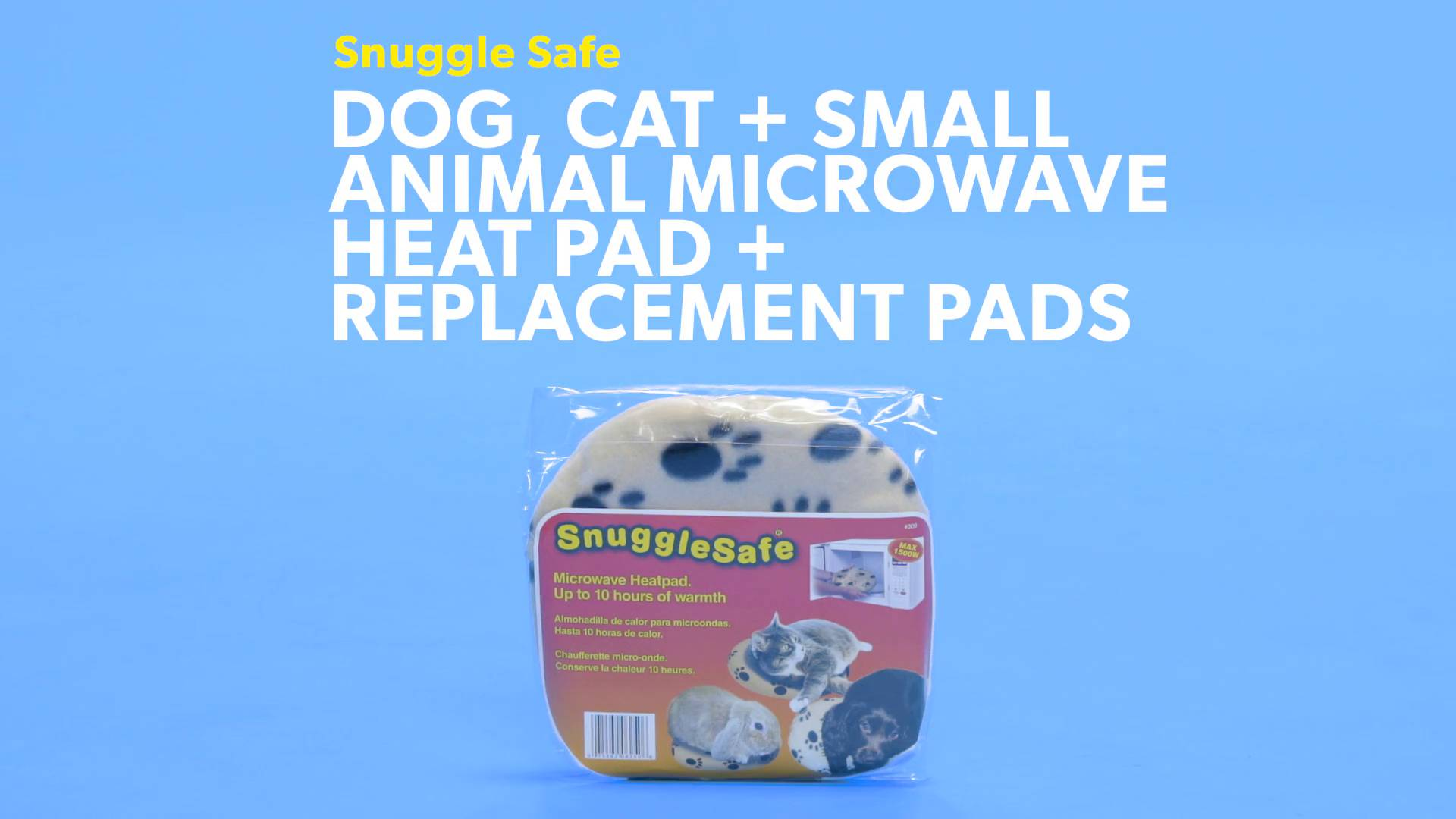 snugglesafe microwave heat pad instructions