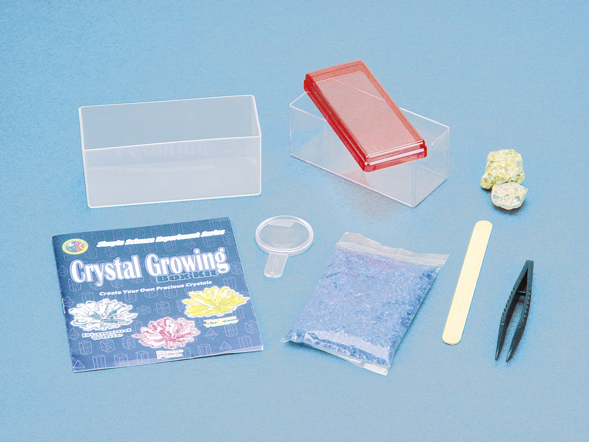 toysmith crystal growing kit instructions